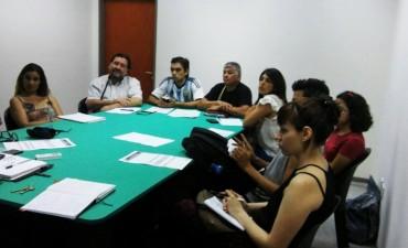 El Departamento de Teatro brindó asesoramiento para la presentación de proyectos culturales