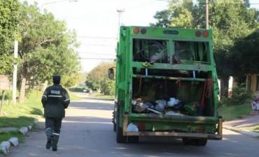 Habrá servicio diferencial de recolección de residuos el Viernes Santo