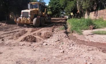 Luego de las lluvias, el municipio intensificará los trabajos para recuperar la transitabilidad en calles de tierra y ripio
