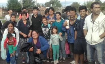 Brahim se reunió con vecinos del barrio Don Santiago y garantizó el servicio de la Línea 12