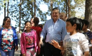 ANIVERSARIO DE GENERAL SAN MARTÍN: PEPPO INAUGURÓ MÚLTIPLES OBRAS DE INFRAESTRUCTURA