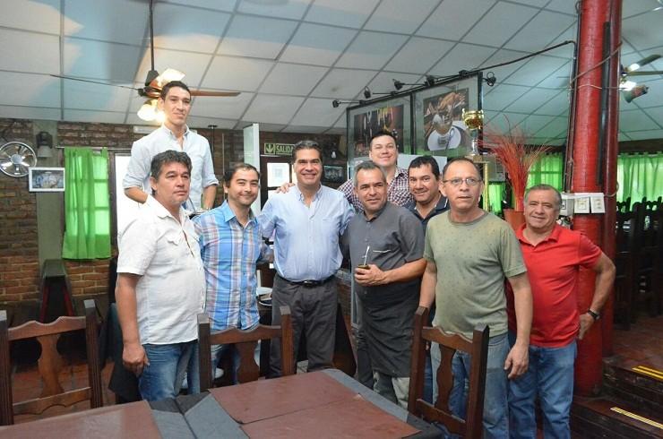 Capitanich y cooperativa El Parrillero analizaron  propuestas de expansión de su proyecto de trabajo
