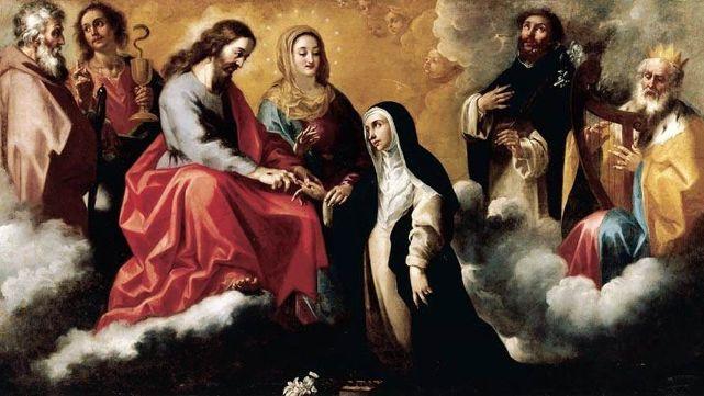 La iglesia recuerda hoy a santa Catalina de Siena