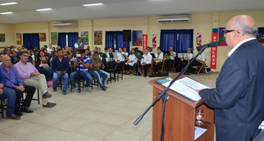 Capitanich acompañó la inauguración del ciclo lectivo y carreras del Instituto Técnico del STM
