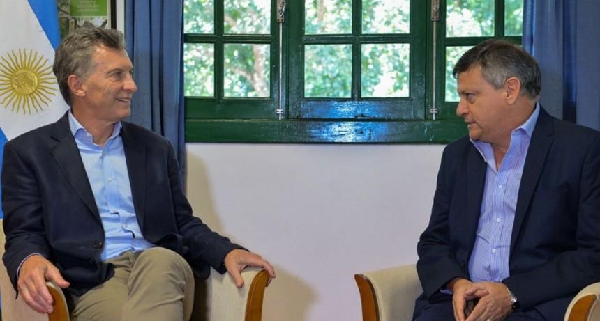 PEPPO Y MACRI DEFINIERON AGENDA DE TRABAJO PARA GARANTIZAR EL ORDENAMIENTO Y CRECIMIENTO DE LA PROVINCIA