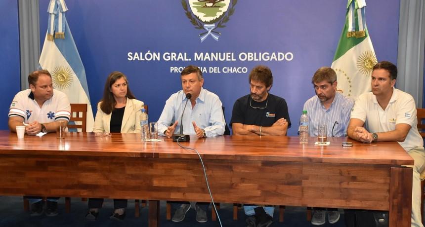 PEPPO ANUNCIÓ GESTIONES PARA ADQUIRIR UN NUEVO AVIÓN PROVINCIAL