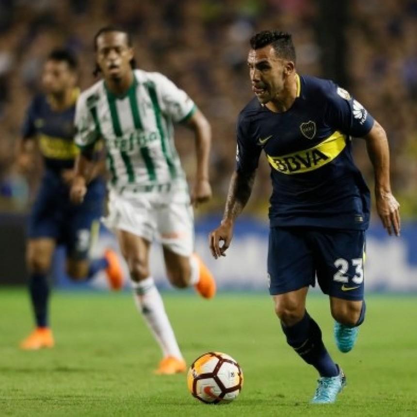 Boca cayó 2-0 ante Palmeiras por la cuarta fecha del Grupo H