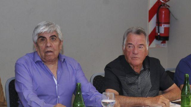 La vuelta de dos caciques: Moyano y Barrionuevo