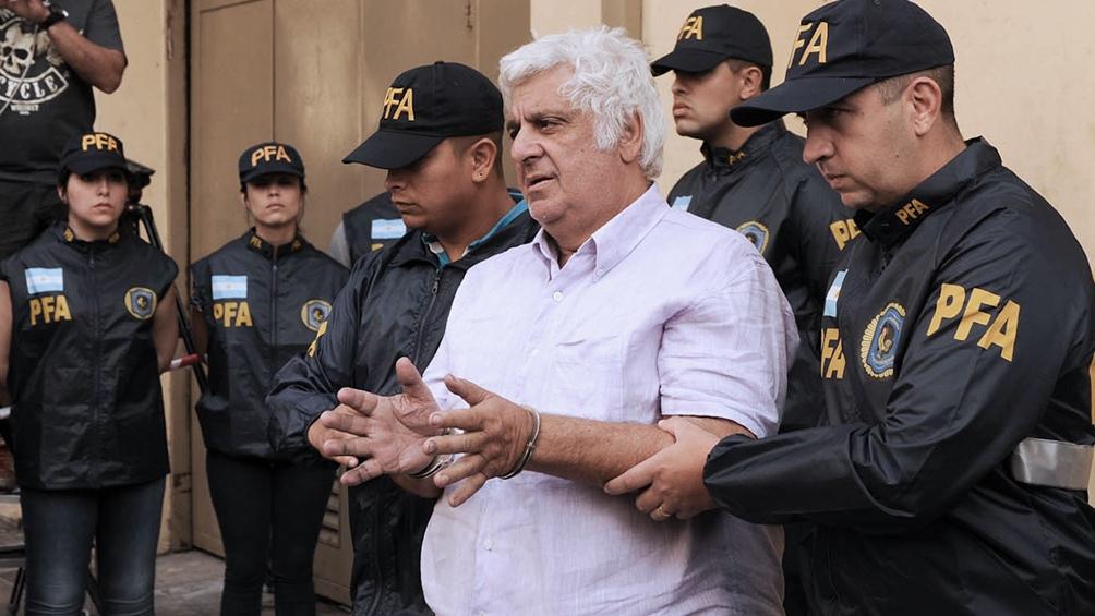 El empresario Alberto Samid será trasladado a la cárcel de Marcos Paz