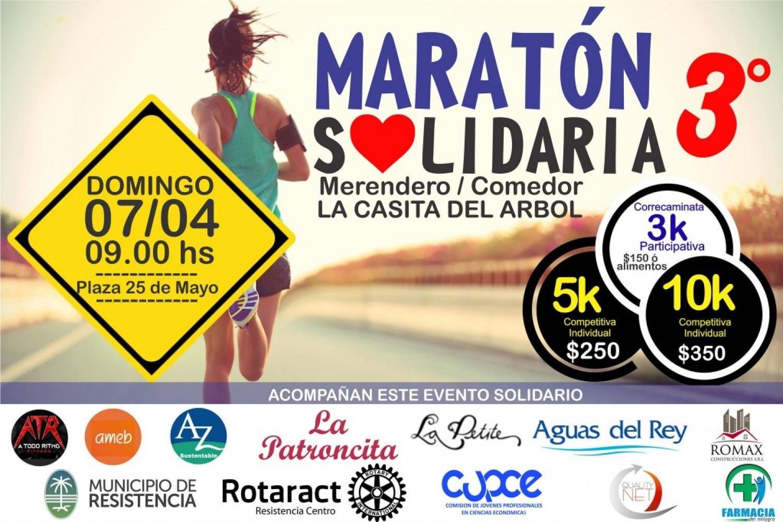 3° Maraton Solidaria
