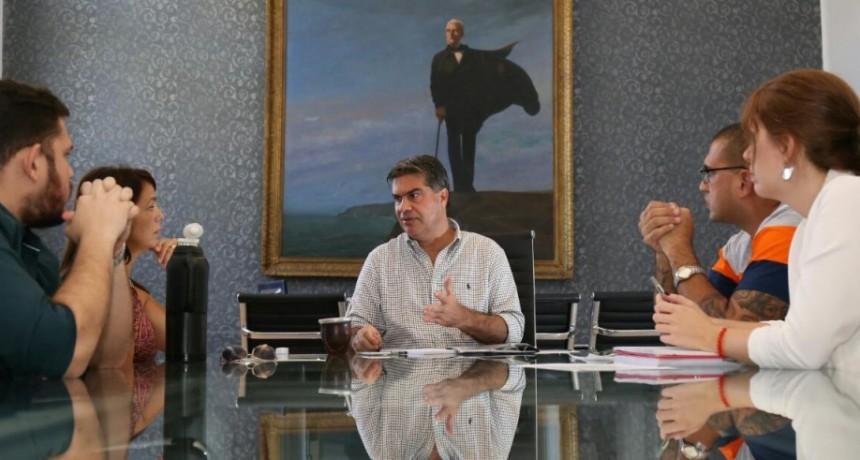 Capitanich recibió a los organizadores del Primer Foro Gastronómico del Chaco