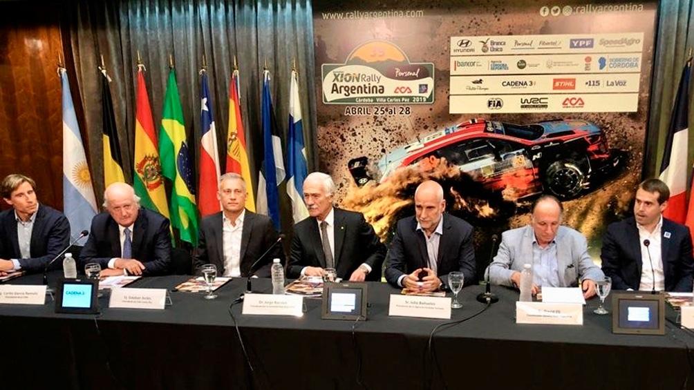 Presentaron oficialmente el Rally Mundial Argentina 2019