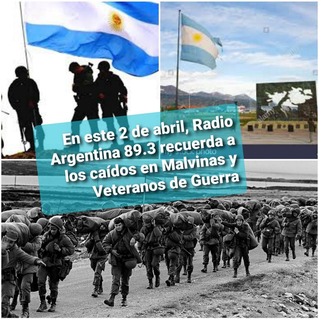 Se conmemora hoy el Día del Veterano y de los Caídos en la guerra de Malvinas