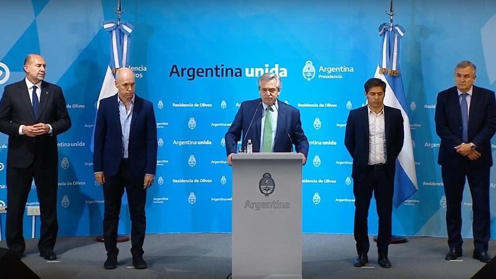 Alberto Fernández  entregará fondos a las provincias por 120 mil millones de pesos