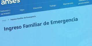 Los beneficiarios del IFE con trámite aprobado ya pueden ingresar a la página web de Anses