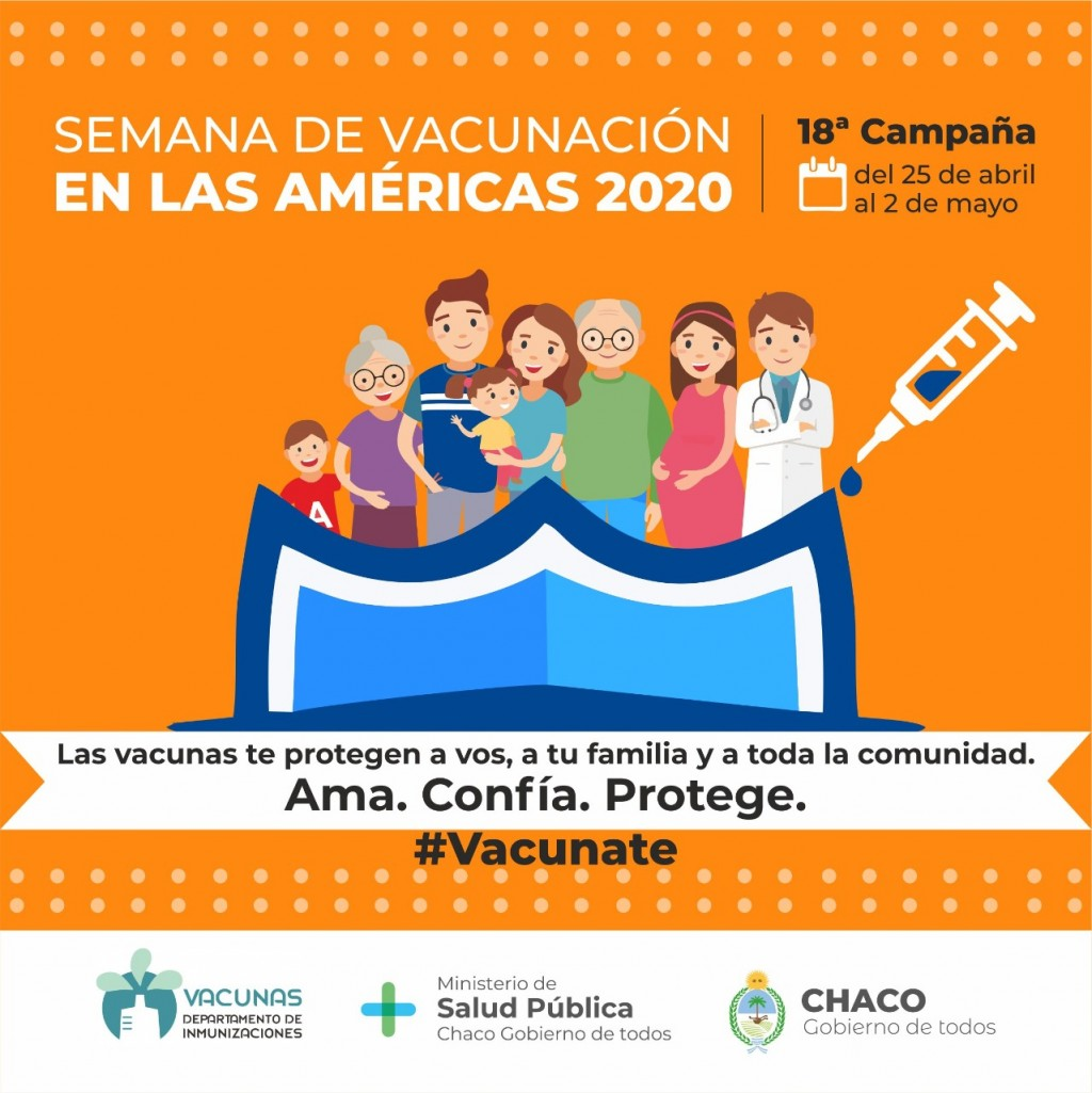 Por la semana de vacunación de las américas chaco planifica actividades para embarazadas
