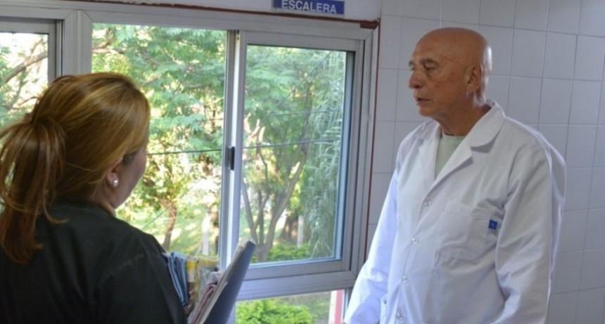 Salud avanza en obras de refacción para el Hospital Perrando
