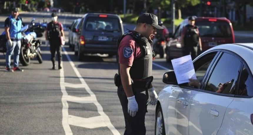 Más de 47 mil detenidos, demorados o notificados por no cumplir la cuarentena en todo el país