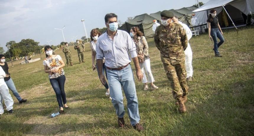 El  Gobernador Capitanich activó un simulacro de atención para casos de coronavirus