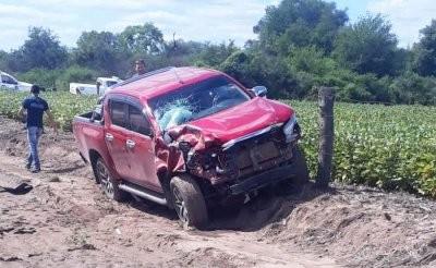 Accidente fatal: un fallecido y una persona grave