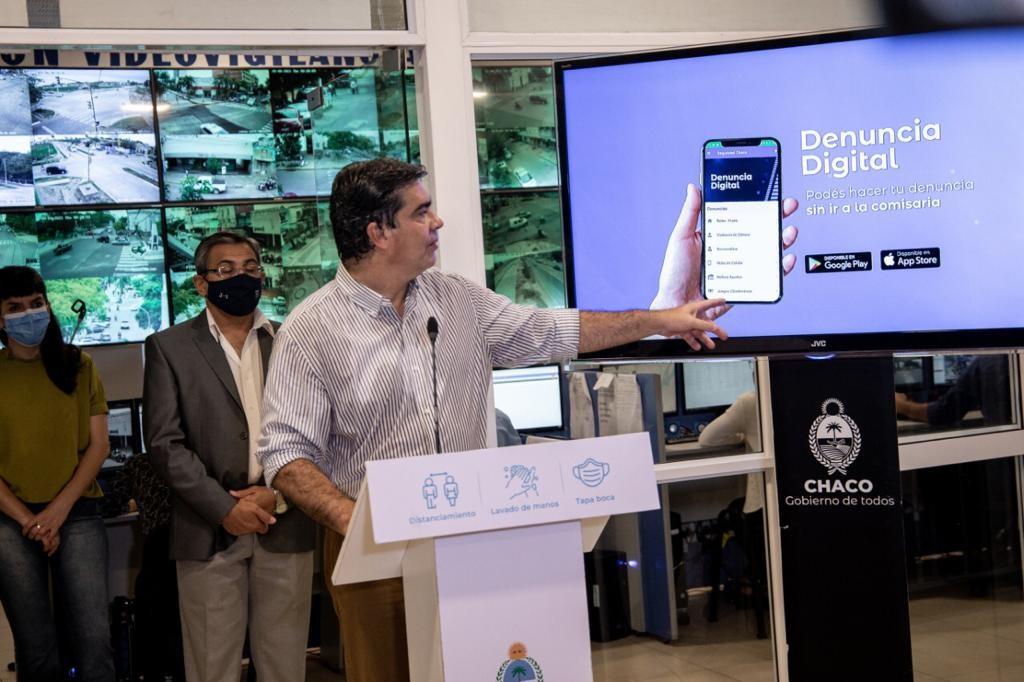 Aplicación denuncia digital Chaco para informar delitos en toda la provincia