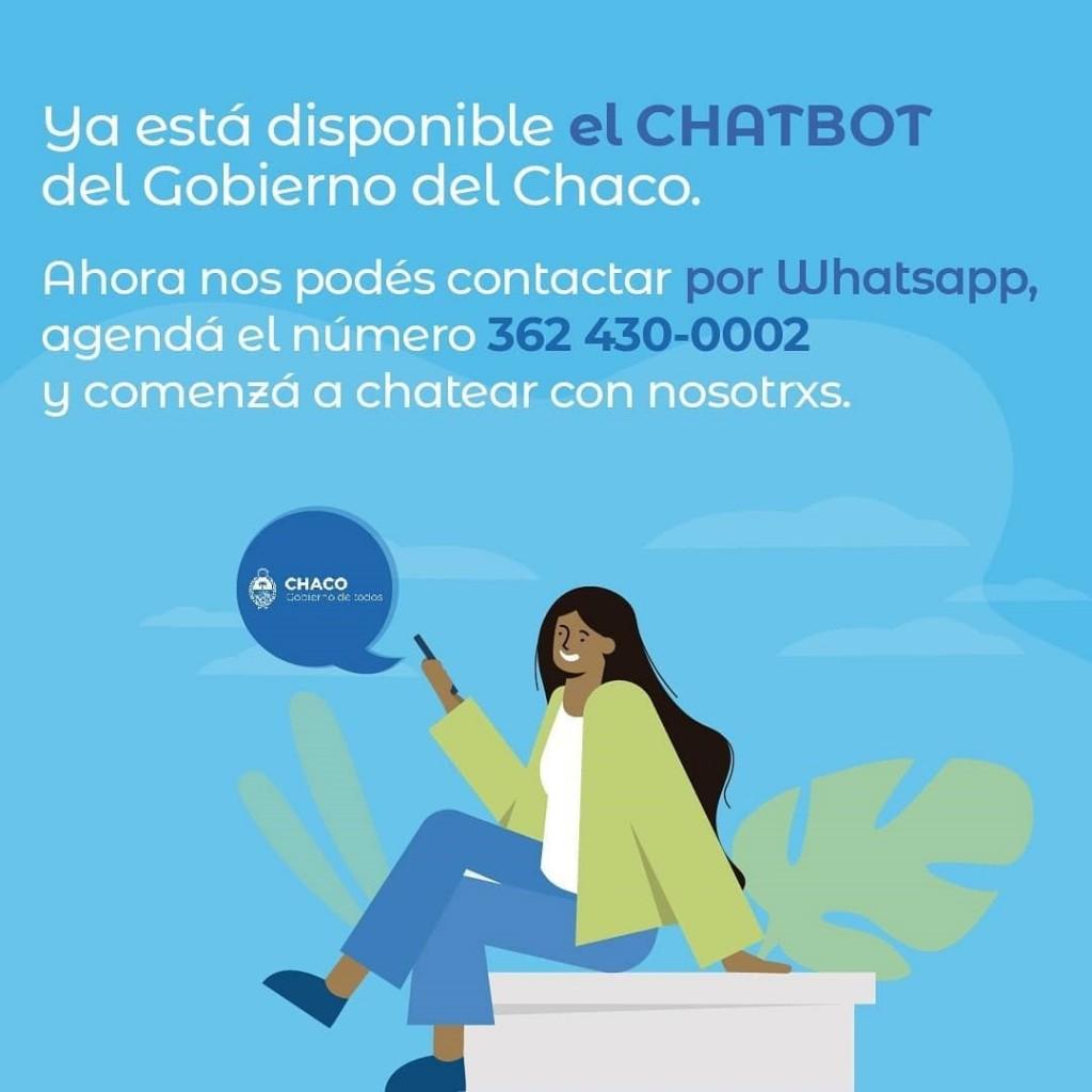 El gobierno provincial puso en funcionamiento un nuevo chatbot para gestiones estatales