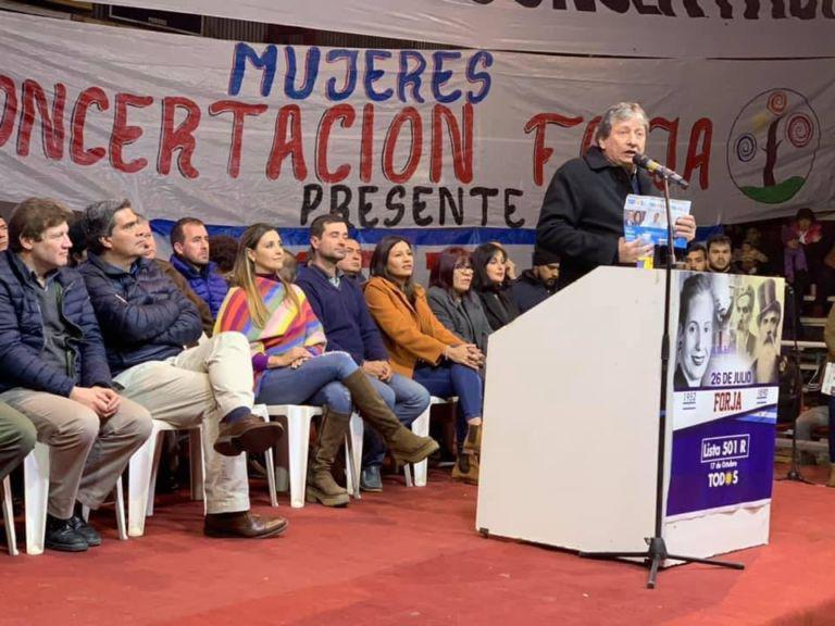 Comunicado del partido de la concertación Forja Chaco
