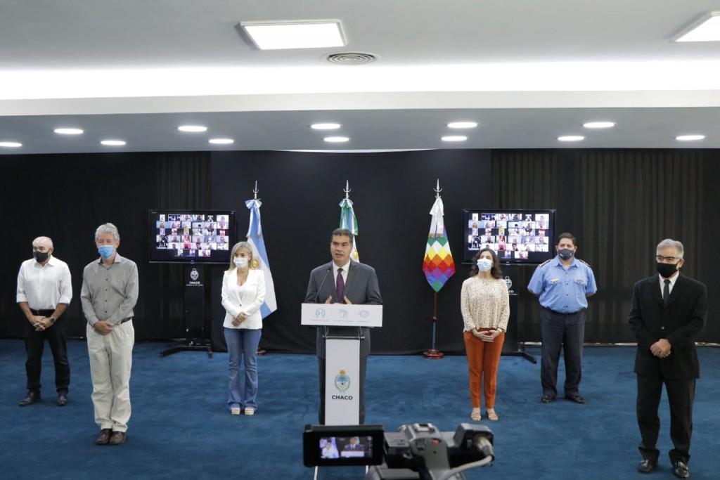 El gobierno presentó un esquema para continuar con la presencialidad educativa en la provincia
