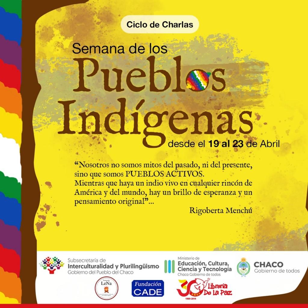Educación invita a conmemorar la semana de los pueblos indígenas con múltiples actividades