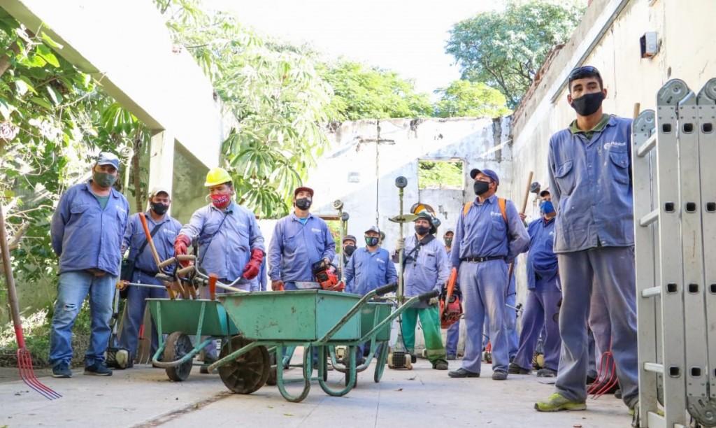 Trabajaran en el saneamiento y recuperación de espacios públicos de Resistencia