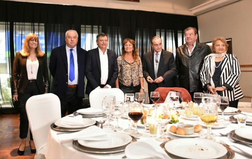 PEPPO PARTICIPÓ DEL ALMUERZO DE LA JUNTA FEDERAL DE CORTES Y SUPERIOR TRIBUNALES DE JUSTICIA DE LAS PROVINCIAS ARGENTINAS