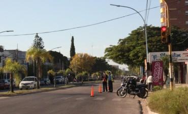 Tránsito: Inspectores controlan el respeto a los  semáforos