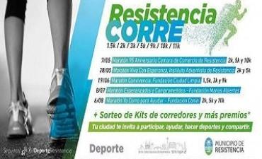 Resistencia Corre: Capitanich presentó el calendario de maratones para la ciudad