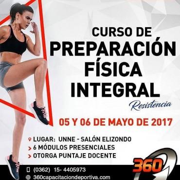 Curso de Preparación Física Integral 05 y 06 de Mayo – UNNE