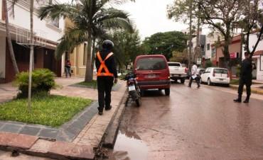 El municipio continúa con los controles de tránsito en distintos puntos de la ciudad
