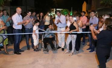 Este domingo el municipio inaugura el pavimento de otras cuatro cuadras calle Obligado