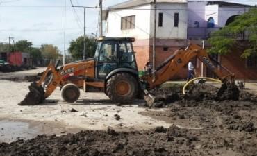 El municipio inaugura pavimento en calle Obligado