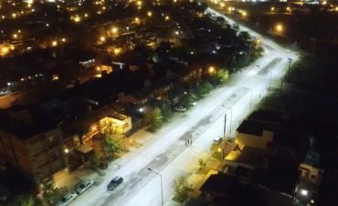 Capitanich habilita otras 12 cuadras de pavimento urbano