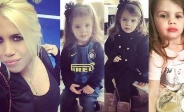 Familia 2.0: Wanda Nara le abrió una cuenta en Instagram a su hija Francesca