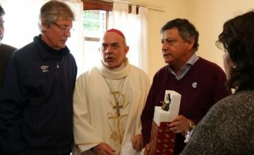 SANTA RITA: PEPPO PIDIÓ BENDICIONES PARA EL PUEBLO CHAQUEÑO Y VALORÓ LA CELEBRACIÓN RELIGIOSA