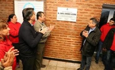Capitanich y Peppo participaron de la inauguración de la segunda etapa de la Escuela de Gestión Social del barrio Emerenciano