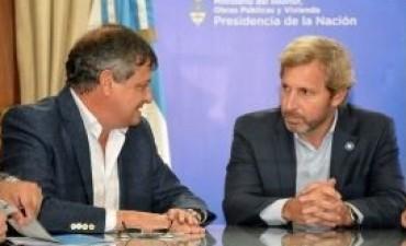 Mañana, Peppo recibe al Ministro del Interior Rogelio Frigerio