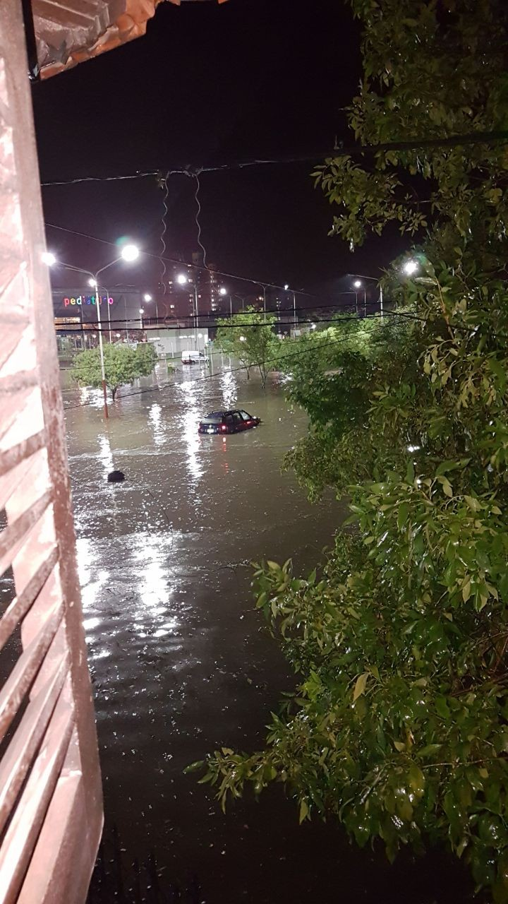 Resistencia bajo agua