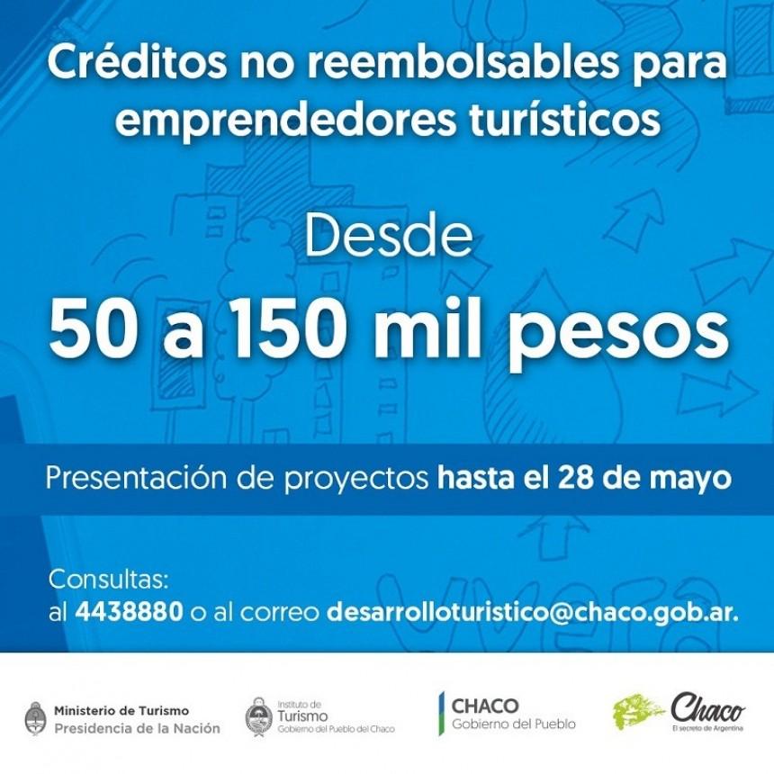 FINANCIAMIENTO NO REEMBOLSABLE PARA EMPRENDEDORES TURÍSTICOS