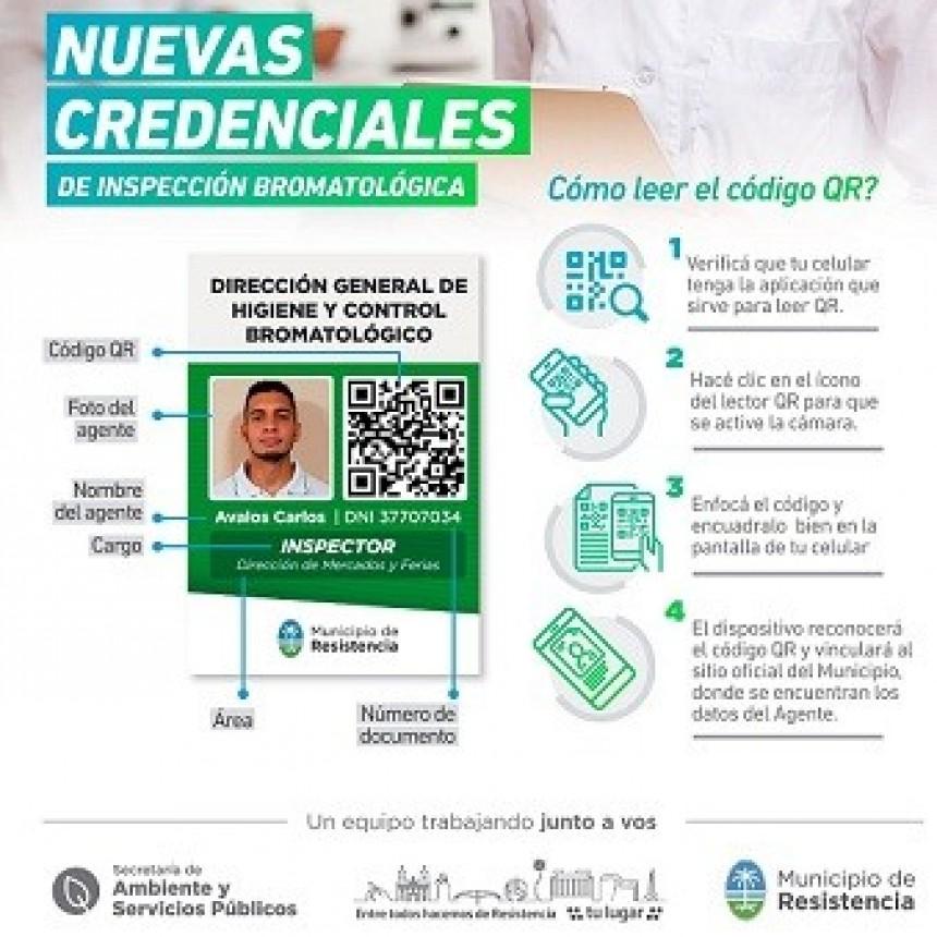 El municipio presentó credenciales de seguridad para agentes inspectores de Bromatología