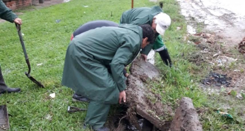 Los Centros Comunitarios colaboraron con la limpieza de la ciudad después de las lluvias