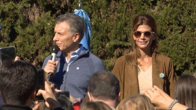 Macri compartió el tradicional locro del 25 en la Quinta de Olivos