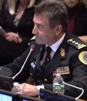 NéstorRoncaglia disertó en la sede de lasNaciones Unidas