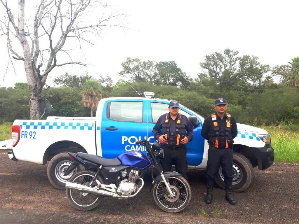 OPERATIVOS DE CAMINERA: SECUESTRAN MOTOS DE DUDOSA PROCEDENCIA