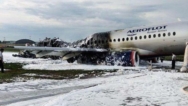 Cajas negras del avión ruso revelaron las causas del mortal incendio